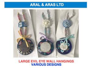 ✅ LARGE Evil Eye Hanging - Ideal for Home/ or a GIFT (Comes in Various Designs!)
