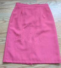 a75055dd4 Jacques Vert Vintage Pencil Midi Length Skirt Salmon Pink UK16