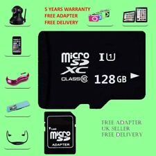 128 GB Micro SD Memory Card Classe 10 TF FLASH MEMORY SDHC/SDXC Adattatore libero