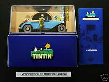"VOITURE TINTIN CAR ATLAS # 68 LE CABRIOLET DÉCAPOTABLE ""VERY RARE"""