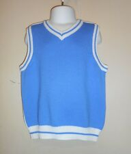 The Childrens Place Toddler Boys Knit Sweater Vest Blue & White 3T NWT