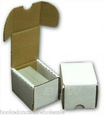 1 Bundle of 50 Card Storage 100 count Cardboard Boxes BCW Brand