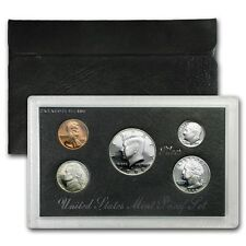 1996 US MINT SILVER PROOF SET - BOX, COA , 5 COINS