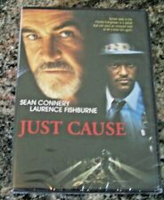 """""""JUST CAUSE""""  Sean Connery, Lawrence Fishburne DVD 1995 Never Opened"""