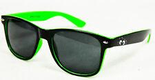 Kleiner Feigling, Sonnenbrille UV 400 Kat.3, Partybrille, grüne Ausführung