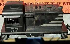 Athearn Ho Train Black #57 Porter Hustler Band Powered Locomotive