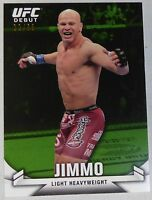 Ryan Jimmo UFC 2013 Topps Knockout Rookie Debut Green Card #13 #d/88 RC 149 161