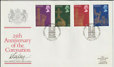 LORD LINLEY - SIGNED - 1978 CORONATION FDC
