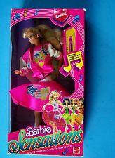 1987 BARBIE & the SENSATIONS BARBIE POP STAR Doll w/ 80's Sound Cassette NRFB