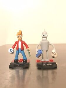 Mega Construx Futurama Fry and Bender series 2