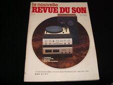 LA NOUVELLE REVUE DU SON<>OCTOBER 1983<>FRENCH AUDIO MAG.°#71°HAFLER DH 120