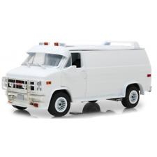 GMC Van Vandura 1983 White Custom 1/18 -13522 GREENLIGHT