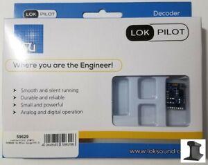 ESU 59629 ~ New 2021 ~ LokPilot V5.0 DCC Motor Decoder ~ 21 Pin ~ 4 Functions