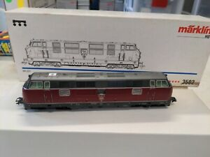 Marklin 3582 DB locomotive, red, digital, lights excellent w/box