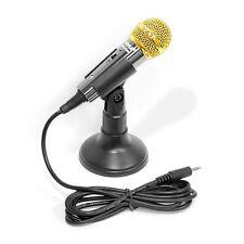 NEW Pyle PMIKC20BK Vocal Condenser Microphone For/Computer/Karaoke/PA Amplifier