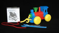 Free Shipping Classic Tupper Toys Build ' Play Train fun pull toy New