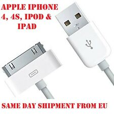 USB-2.0 30-pin Data and Charging Cable for Original iPad 2 3 iPhone 4 iPod Touch