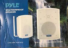 Pyle Home - PDWR63 - 6.5-Inch Indoor/Outdoor Waterproof Speakers (Pair) - White