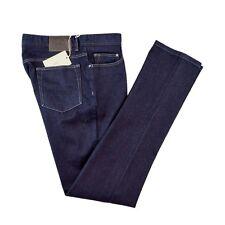 New BRIONI Meribel Slim Fit Stretch Cotton Dk Indigo Denim Jeans 38 NWT $595!