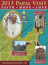 The Original 2015 Papal Visit Commemorative 17x23 Poster - FREE Shipping