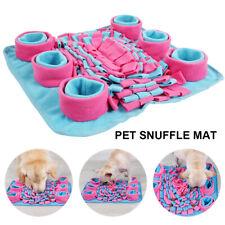 Dog Pet Snuffle Mat Nose Training Sniffing Pad Toy Feeding Cushion Blanket AU