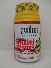 ZARBEES CHILDREN'S COMPLETE MULTIVITAMIN + IRON + TOTAL B COMPLEX 5/21 LS 516