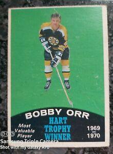 1970-71 OPC Bobby Orr Hart Trophy Winner #246