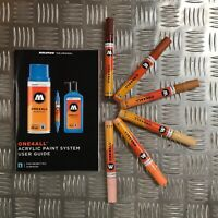 Molotow One4All 227 HS Acrylic Marker - Character Set - 6 Markers