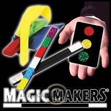 Color Changing Hanky Magic Stick Stop Light Card Combo Magician Trick Magic