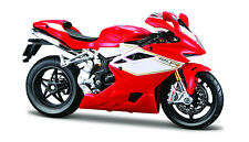 MV Agusta F4 RR 2012 rot-weiß 1:12 Motorrad Modell die cast von maisto