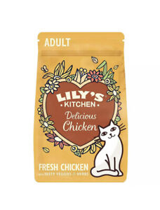 Lilys Kitchen Chicken Casserole Dry Cat Food Delicious Premium Feed 800g
