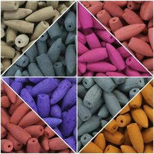 Back flow cones Various Fragrances and amounts...Genuine Indian incense cones