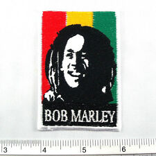 """Bob Marley embroidered iron on patches appliques 2x3"""""""