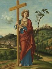 CIMA DA CONEGLIANO ITALIAN SAINT HELENA OLD ART PAINTING POSTER PRINT BB5114A