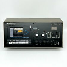 More details for retro coomber 393 schools cassette tape player recorder tested & working