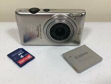 Canon PowerShot ELPH 300 HS 12.1MP Digital Camera - Silver (READ DESCRIPTION)