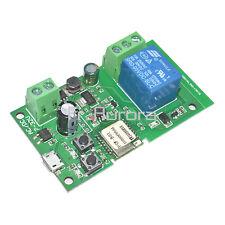Jog self-lock Smart WiFi Wireless Switch Relay Module DC 5V-12V by APP Control