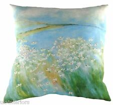 "17"" Seaside Daisies Sue Fenlon Cushion Evans Lichfield DPA258 43cm Beach Sea"