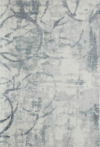 """Momeni Rugs Illusions Collection Casual Area Rug, 8'0"""" x 11'0"""", Grey"""