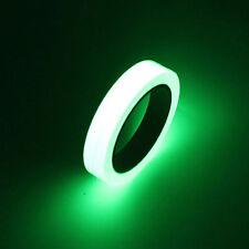 Self-adhesive Luminous Tape Glow In The Dark Green Home Decoration 10mmX10m L52