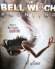 The Bell Witch Haunting NEW! DVD,DEMONS,PARANORMAL HORROR, FREE SHIPPING!