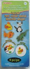 SCULPEY PET PALS - OVEN-BAKE CLAY KIT - 9 PIECES