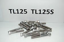 HONDA  TL125 TL125S  STAINLESS STEEL ALLEN HEAD SCREW/BOLT SET