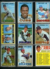 1967 Topps Baseball Starter Set of 498 DIFFERENT cards with Hall of Fame Rookie