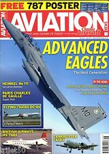 Aviation News Magazine 2015 June A-10 Bentwaters,BA HS748,LOT 787,Flying Tigers