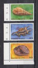 TIMBRE STAMP 3 ILES SAMOA Y&T#450-51+470 COQUILLAGE NEUF**/MNH-MINT 1980 ~B78