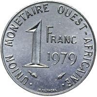 Französisch Westafrika - Münze - 1 Franc 1979