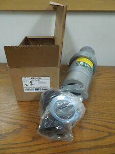 Appleton ACP1034CDP4 100A 3W 4P 600 VAC 250 VDC Powertite NEMA 3 4 4X Plug