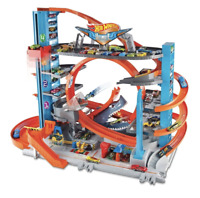 Hot Wheels City Ultimate Garage - Boys Kids Racing Car Toy Set - Race Cars Toys