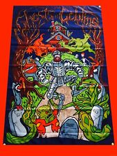 LARGE Ghosts 'n Goblins Arcade Video Game Banner Flag Poster